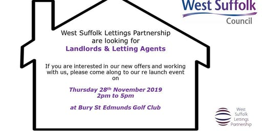 West Suffolk Lettings Partnership (WSLP) Relaunch