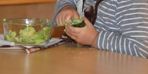 Beyond Banana Slicing: Food Preparation for the First Plane Child
