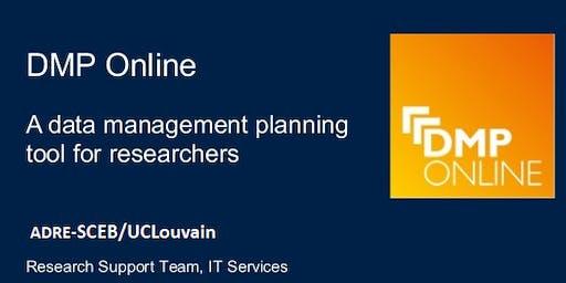 WLW: Présentation de l'outil de gestion de données de recherche: DMP-Online