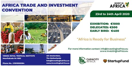 AFRICAN TRADE AND INVESTMENT CONVENTION tickets