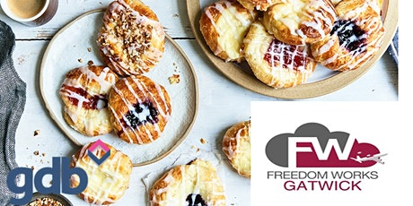 gdb Pastries & Networking at Freedom Works Crawley tickets
