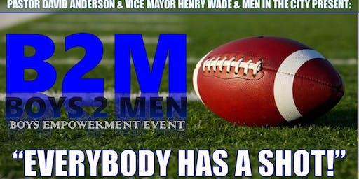 B2M Boys 2 Men Empowerment Event
