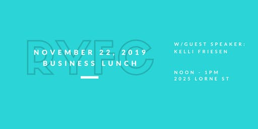 RYFC November 22, 2019 Business Lunch