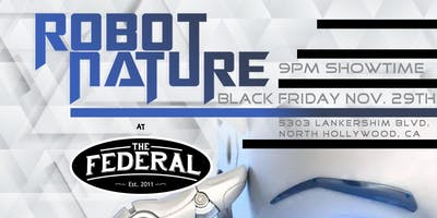 Black Friday World Record Party with Robot Nature