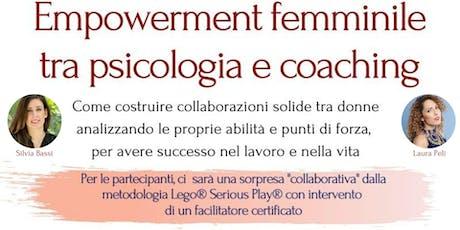 Empowerment femminile tra psicologia e coaching biglietti