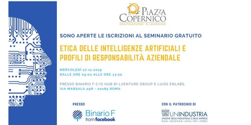 Seminario Gratuito - Etica delle Intelligenze Artificiali