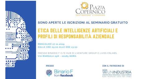 Seminario Gratuito - Etica delle Intelligenze Artificiali