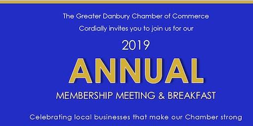 Annual Membership Meeting & Breakfast