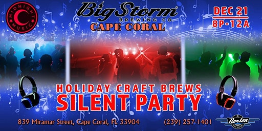 Holiday Craft Brews Silent Party