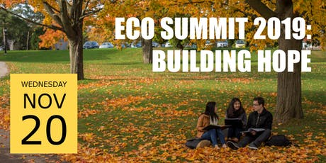 Eco Summit 2019: Building Hope tickets