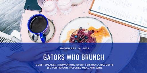 Gators Who Brunch - November