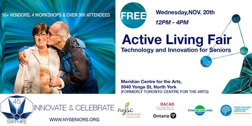 Active Living Fair, Technology and Innovation for Seniors