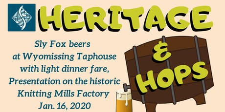 Sly Fox Taphouse at the Knitting Mills (Heritage & Hops Series) tickets