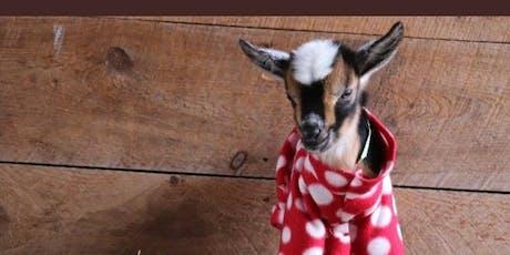 Baby Goat Yoga Pajama Party at Faith Lutheran Church tickets