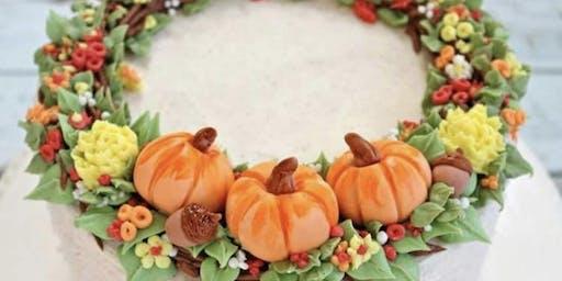 Thanksgiving cake class