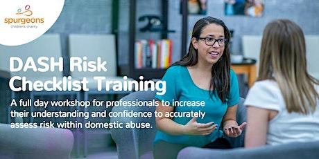 DASH Risk Checklist Training tickets