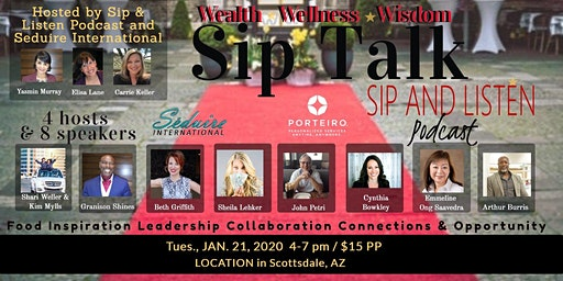 Sip Talk - Inspiration, Education, Ideas, Networking and New Connections
