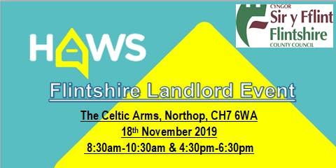 Flintshire Landlord Event - Digwyddiad Landlordiaid Sir y Fflint