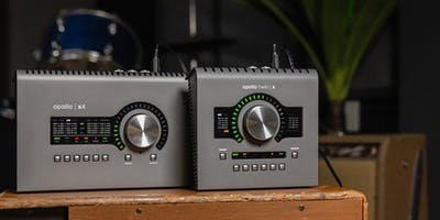 Meet The Universal Audio Apollo Twin X & Apollo X4  At Vintage King