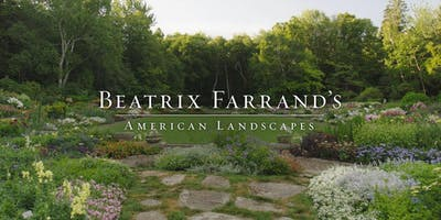 Beatrix Farrand Documentary Film Screening