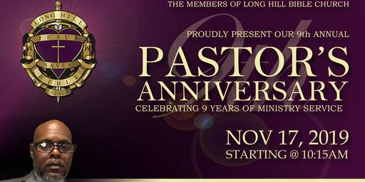 9th Annual Pastoral Anniversary