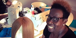 San Francisco, CA | 27 Piece or Enclosed Wig Making Class w Sewing Machine