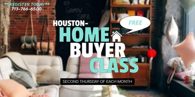 INVEST IN YOURSELF -  Houston Home Buyer Class