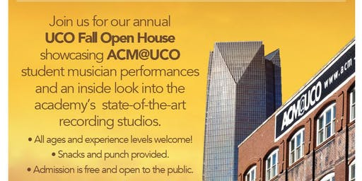 ACM@UCO Fall Open House!