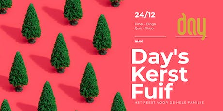 Day's kerst Fuif tickets