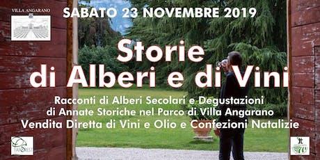 Storie di Alberi e di Vini con AgriAperitivo biglietti