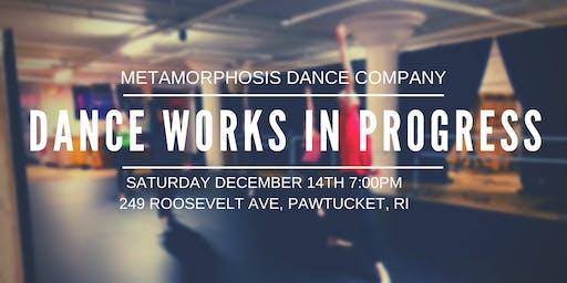 Metamorphosis Dance Company: Dance Works In Progress
