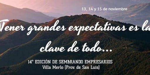 """Certamen """"Sembrando Empresarios"""" Finales Villa Merlo (San Luis)"""