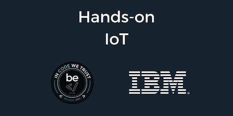 IoT Worskshop with IBM tickets