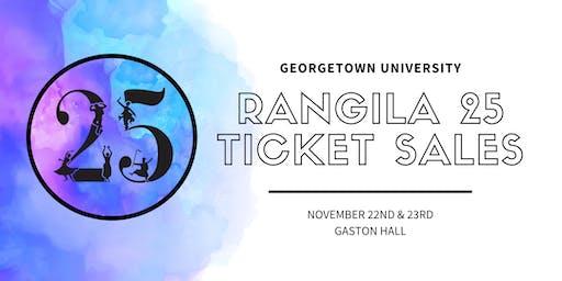 Alumni Ticket Sales for Rangila 25!