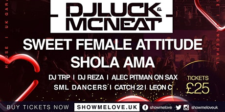 SHOW ME LOVE XMAS SPECIAL @ THE CIRCUS TAVERN - 20TH DECEMBER 2019 tickets