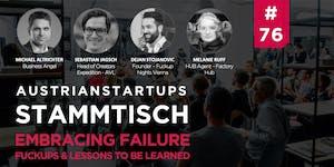 AustrianStartups Stammtisch #76: Embracing Failure -...
