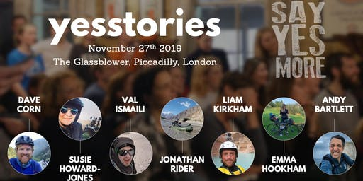 Yes Stories November 2019 - A Night of Inspiration
