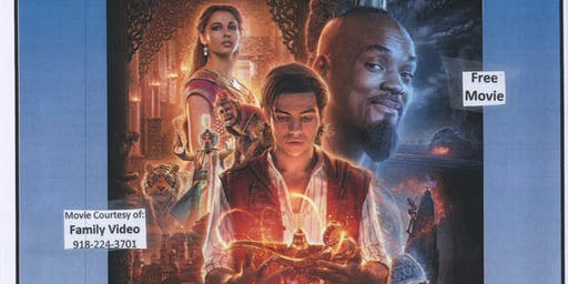 Free Movie Night @ The Library - Aladdin