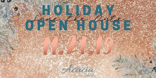 Acacia Spa Holiday Open House