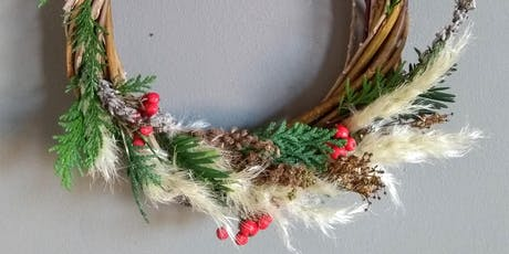 Dennistoun Festive Wreath-Making Workshop tickets