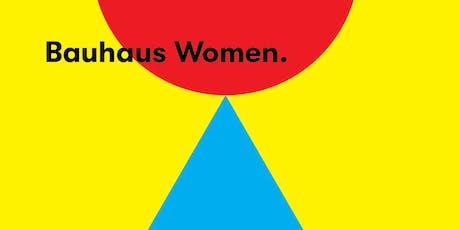 Talk: Forgotten Bauhaus Women tickets