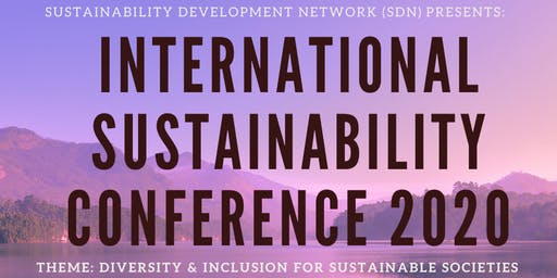 Sustainability Conference for Future Sustainable Societies 2020
