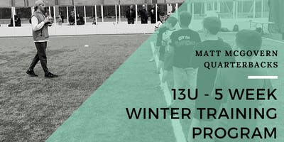 13U Winter 5 Week QB Training Program