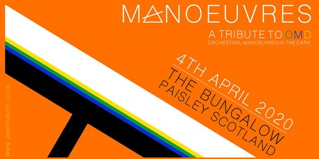 OMD Tribute - Manoeuvres in Paisley tickets
