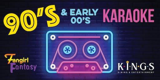 Fangirl Fantasy 90's & early 00's Karaoke