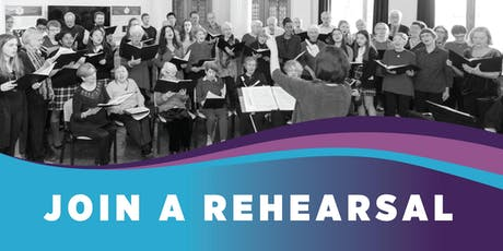 Join a Rehearsal in January. Gordon Head Rec Centre tickets