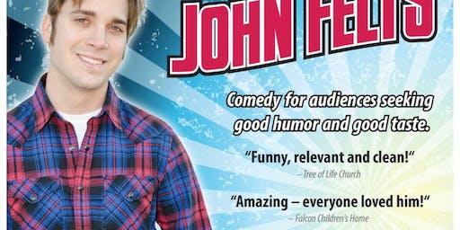 Comedian John Felts