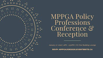 Job Search Skills for Policy Professions Conference & Networking Reception