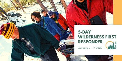 5-Day Wilderness First Responder course