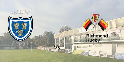 Sale FC vs Richmond